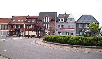 Kruishoutem - Image: Banks in Kruishoutem België