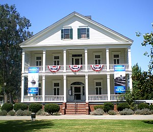 Wilmington, Los Angeles - The Banning House in August 2008