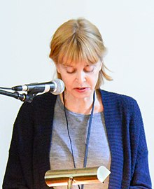 Barbara Gowdy at the Eden Mills Writers' Festival in 2017