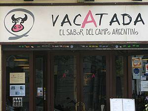 Argentines in Spain - Argentine restaurant in Barcelona