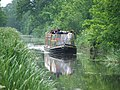 Barge on Montgomery Canal - geograph.org.uk - 347956.jpg