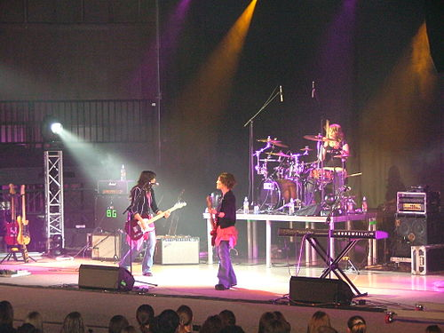 Barlow Girl performing on the OBU campus Barlowgirllive.JPG