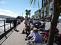 Barmouth harbour seafront at midday in August - geograph.org.uk - 2027823.jpg