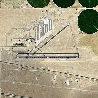 Barstow-Daggett Airport - USGS aerial image, 2006