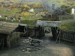 Battle of Borodino panorama - detail 03.jpg