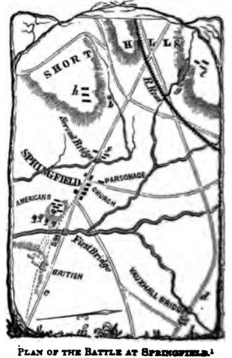 Battle of Springfield (1780) - Battle of Springfield