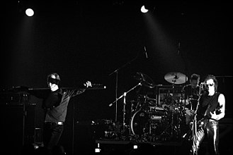 Gothic rock - Gothic rock band Bauhaus performing live in August 2006