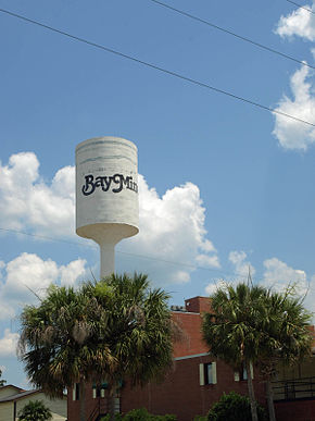 Bay Minette Concrete Water Tower June 2013 2.jpg