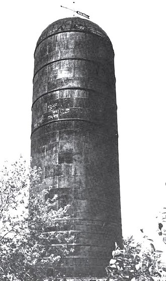 National Register of Historic Places listings in Delta County, Michigan - Image: Bay de Noquet Waste Burner