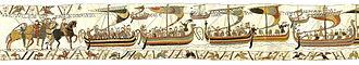 Mora (ship) - Image: Bayeux Tapestry Scene 38