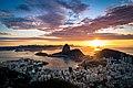 Beautiful sunrise in Rio with Sugarloaf Mountain 2.jpg