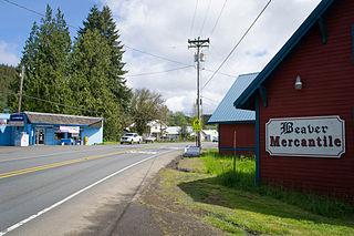 Beaver, Oregon Census-designated place in Oregon, United States