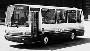 Midibus - Early version of a midibus, the Bedford JJL