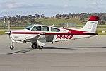 Beech F33A Bonanza (VH-VDD) at Wagga Wagga Airport.jpg