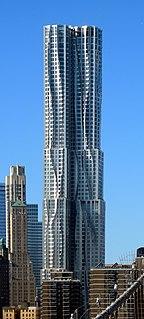 8 Spruce Street Residential skyscraper in Manhattan, New York