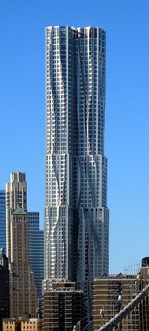 8 Spruce Street - Image: Beekman Tower fr BB jeh