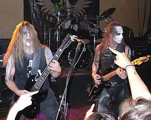 Behemoth (band) - Behemoth at Jaxx Nightclub in 2007