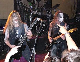 Behemoth (band) - Behemoth at Jaxx Nightclub in 2007