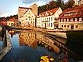 Beim 366 km langen Neckartalradweg, Klostermühle am Neckar - panoramio (2).jpg