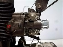 Datei:Bell & Howell Filmo 16 mm projector.webm