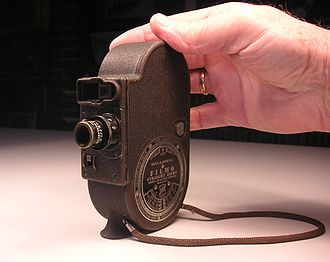 Filmo - Image: Bell Howell Filmo 2