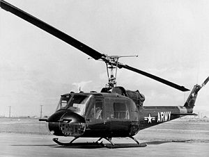 Twilight Zone accident - A UH-1B similar to the accident helicopter