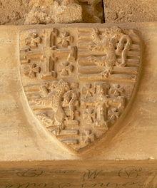 Px Bellapais Kloster Refektorium Wappen B Zypern