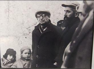 Yitzhak Ben-Zvi - Yitzhak Ben Zvi at Tel Hai, 1934