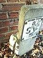 Benchmark on wall on Marcham Road near hospital entrance - geograph.org.uk - 2087568.jpg
