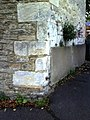 Benchmark on wall on west side of Wilsham Road - geograph.org.uk - 2090533.jpg