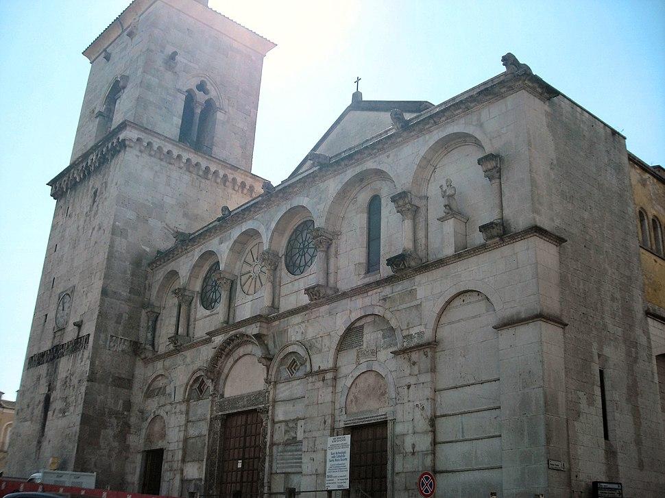 Benevento-Facciata Duomo 2
