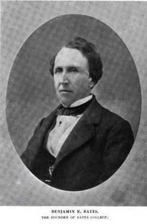 Boston Brahmin - Philanthropist, business magnate, namesake of Bates College, Benjamin Bates.