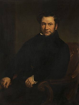 B. Hick and Sons - Portrait c.1840 of Benjamin Hick, founder of B. Hick and Sons by George Patten ARA (1801–1865)