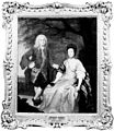 Benjamin Hoadly and his wife. Oil painting by Francis Hayman Wellcome M0007629.jpg