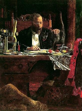 Crystal Bridges Museum of American Art - Portrait of Professor Benjamin H. Rand (1874) by Thomas Eakins