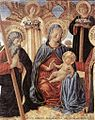 Benozzo Gozzoli - Madonna and Child between Sts Andrew and Prosper (detail) - WGA10333.jpg