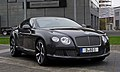 Bentley Continental GT (II) – Frontansicht (1), 5. April 2012, Düsseldorf.jpg