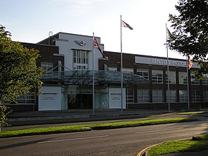 Crewe - Bentley's Pyms Lane factory