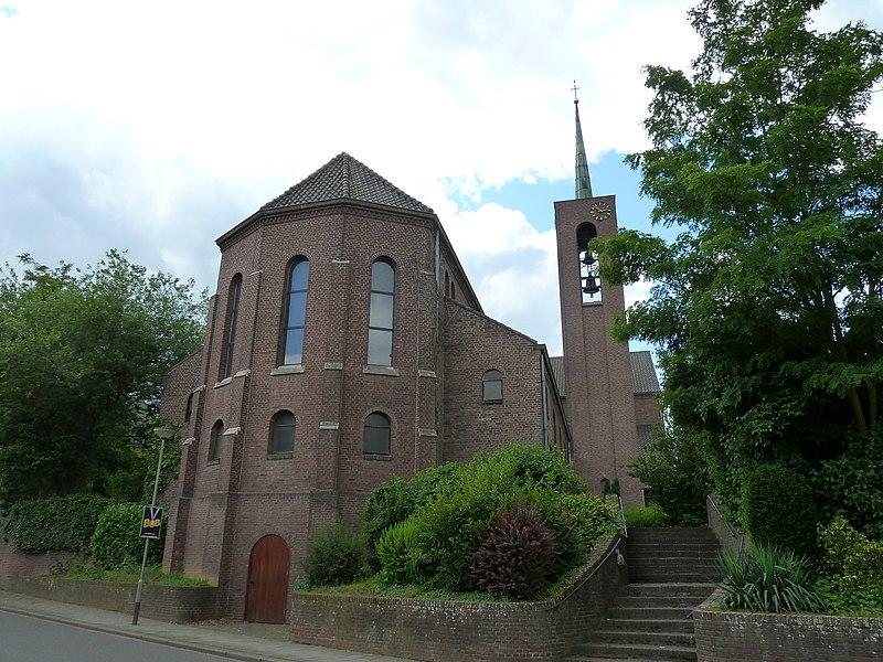 Kerk van Berg aan de Maas, gemeente Stein, Limburg, Nederland