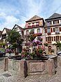 Bergheim - fontaine - place du Docteur Pierre Walter (2-2016) P1050770.jpg