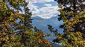 Bergtocht van Homene Dessus naar Vens in Valle d'Aosta. Doorkijkje vanaf het bergpad op omringende bergtoppen 03.jpg