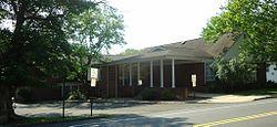 Berkeley Heights NJ public library entrance