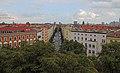 Berlin-Mitte Aussicht von Zionskirche auf Zionskirchstr.jpg