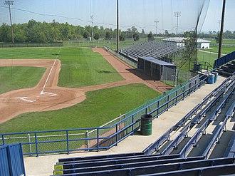Bernie Arbour Memorial Stadium - Image: Bernie Arbour Stadium A