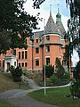 Bernströmska villan, Skärtofta, uppfart och entré.jpg