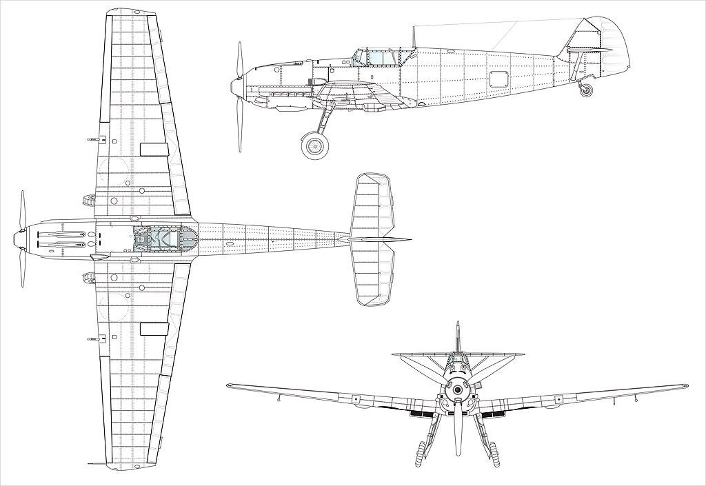 Fichier Bf109e 3seiten Wikip Dia