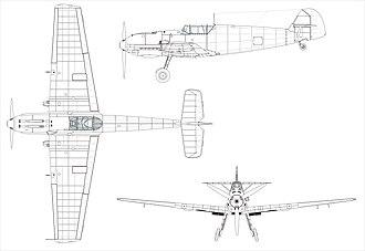 Messerschmitt Bf 109 variants - Bf 109E-3