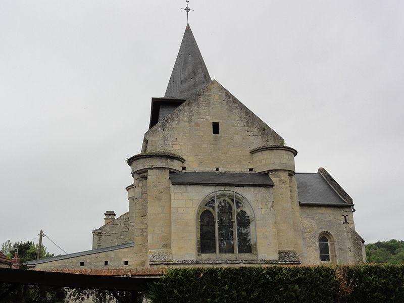 Bièvres (Aisne) église Saint-Pierre