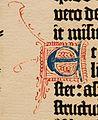 Biblia de Gutenberg, 1454 (Letra E) (21823618132).jpg