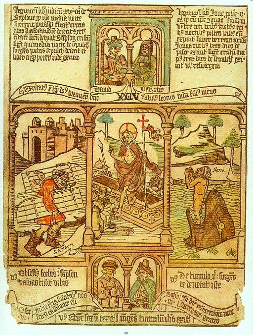 Biblia pauperum (Resurrection)